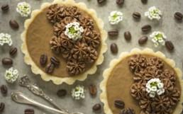 Macadamia & Coffee Tarts