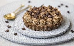 Coffee Maca Latte Tart